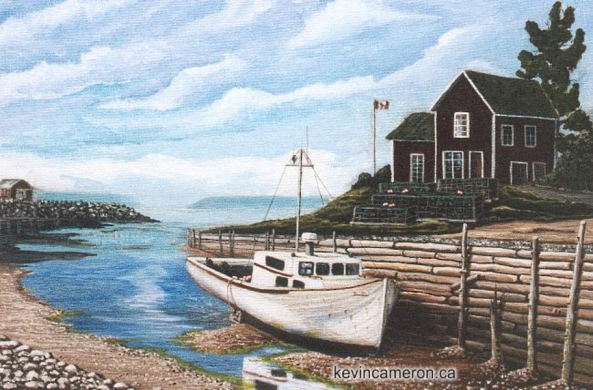 Old Halls Harbour NS